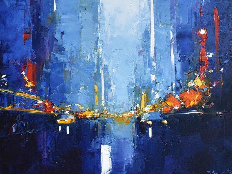 toile de Daniel Castan