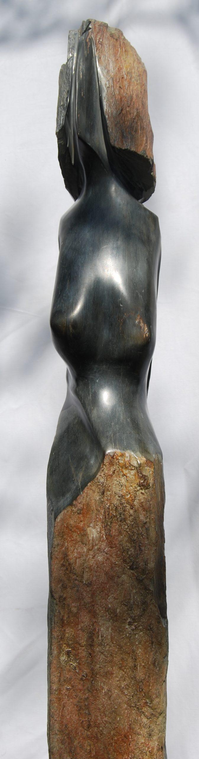 sculpture ariza de Claude Bertrand