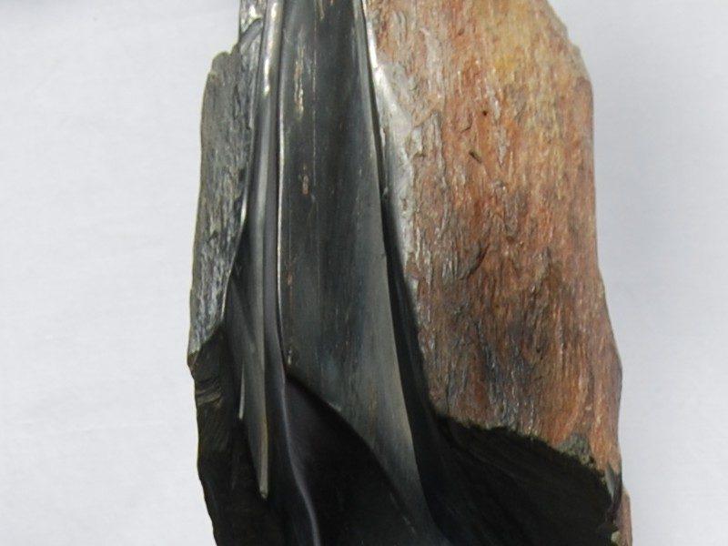 sculpture le foulard de Claude Bertrand