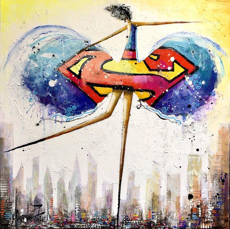 I'm a supergirl 50x50