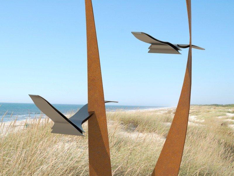 Seagulls torsion small de Marcel Timmers